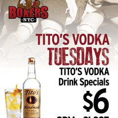 Tito's Vodka Tuesdays