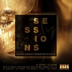 SESSIONS #afterwerqfridays