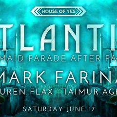 Atlantis: Mermaid Parade After Party