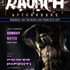 DJ Power Infiniti At Raunch After Hours