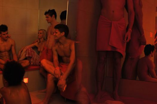 Sauna and gay and paris