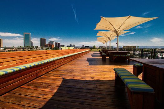 Skydeck at Clarendon Hotel, Phoenix