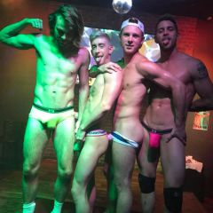 Underwear Contest at night!