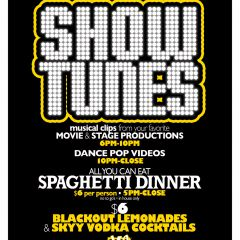 Showtunes Spaghetti Tuesdays