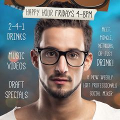 Nerd Alert + Friday Happy Hour