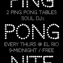 Ping Pong Night