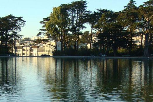 Stow Lake Boathouse