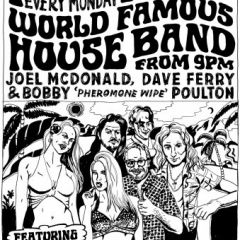 Click to see more about Frankie's World Famous House Band