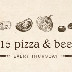 $15 Pizza & a Beer