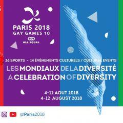 PPARIS 2018 - Gay Games 10