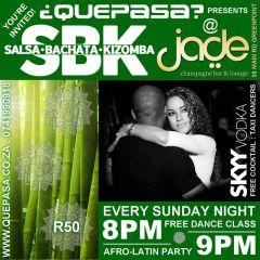 Salsa Sundays Jade Bar