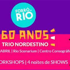 Festival Forró in Rio 2018 - Trio Nordestino 60 anos
