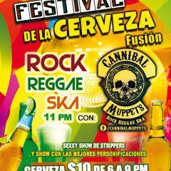 Festival de la Cerveza Fusión / Rock en vivo Cannibal Muppets