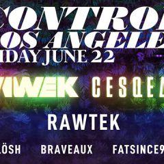 Wiwek, Cesqeaux and Rawtek at Control