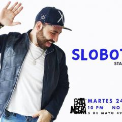 Slobotzky Stand Up en Salón Pata Negra Centro