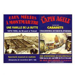 Eaux mélées à Montmartre. L'histoire d'une famille de la Butte.