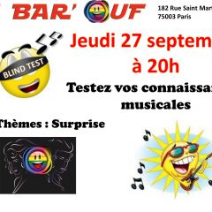 Click to see more about Le Bar'Ouf : Blind test musical, Paris