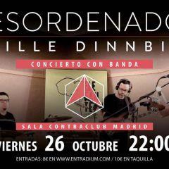 Guille Dinnbier Con Banda en ContaClub (DESORDENADOS)