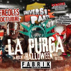 Evento Oficial - Universiparty | La Purga