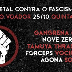 Metal Contra o Fascismo - 25/10 no Circo Voador