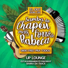 Samba do Chapéu + Forró de Rabeca ::: Free / 0800 / Pra Todos