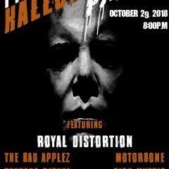 Halloween Party with Sick Mystic & Motorbone!
