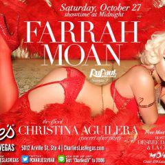 Farrah Moan at Charlie's Las Vegas