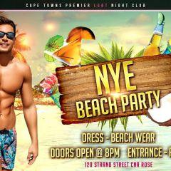NYE 2018 Beach Party