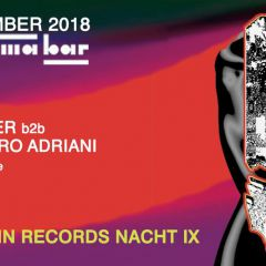 Mannequin Records Nacht lX