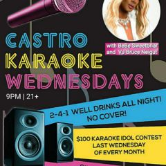 Castro  Karaoke Wednesdays