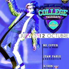 Click to see more about COLLEGE THURSDAYS, Bogota