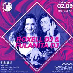 Fulanita DJ y una serie de Djs invitados