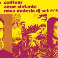 IndieFuertes: Coiffeur , Amor Elefante , Nova Materia en Niceto