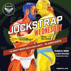 Click to see more about Jockstrap Wednesday, New York City
