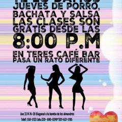 Click to see more about Jueves de porro, bachata y salsa