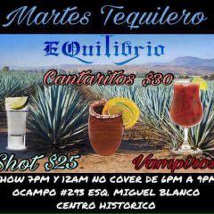 Click to see more about Martes tequilero