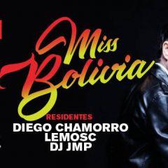 Miss Bolivia en Fiesta Invasión