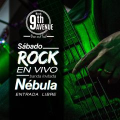 Rock en vivo en 9th Avenue Rock Bar