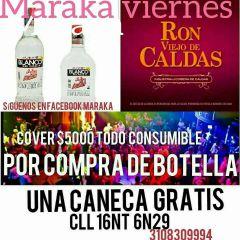 Viernes de Maraka - Promociones