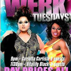 Click to see more about WERK! Tuesdays, Toronto